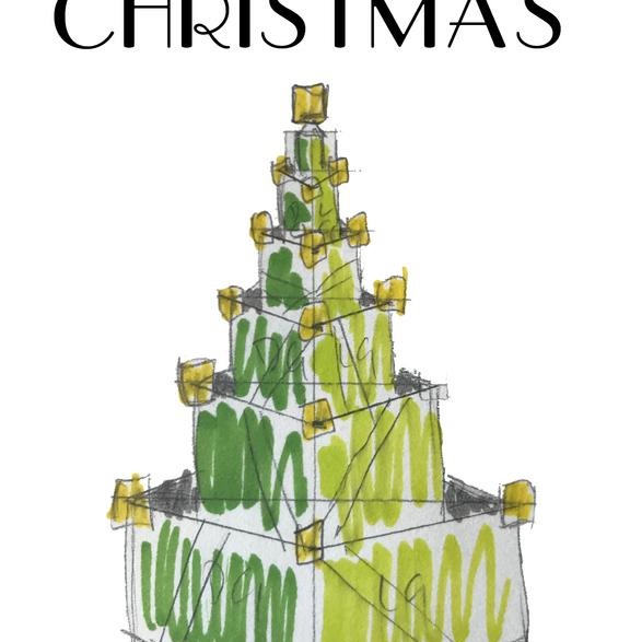 Art Deco Christmas Tree
